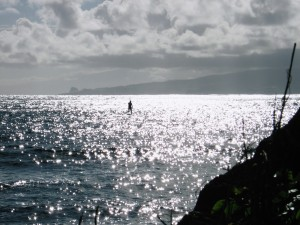 Molokai Stand-up Paddler