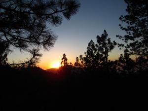 Setting Sun -- McGill Trail