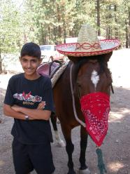 Sombrero Starboy at Camp job