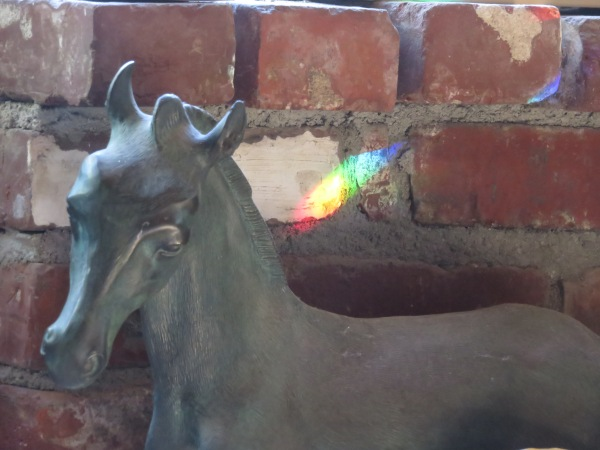 Rainbow Statue