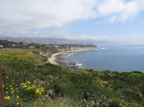View of Little Dume Beach