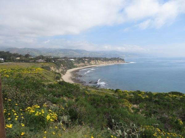 View of Little Dume Beach
