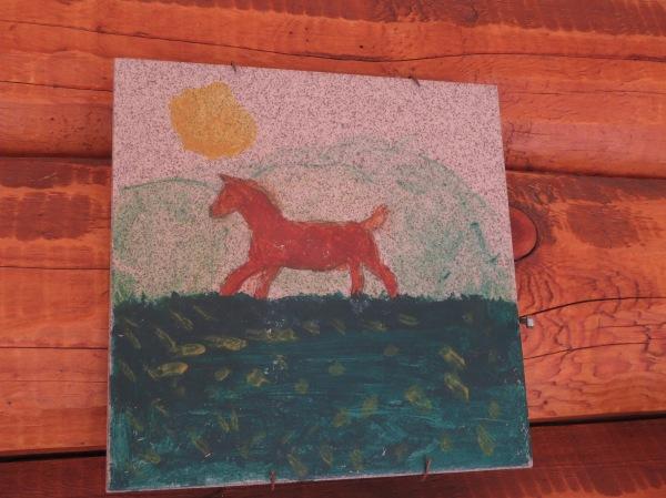 Children's Horse Art